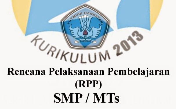 RPP  MTs/SMP Kurikulum 13  Ms. Word