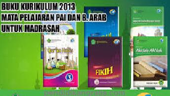 Download Buku PAI dan Bahasa Arab MTs  Kurikulum 2013