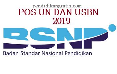 POS UN DAN USBN 2019 BSNP INDONESIA
