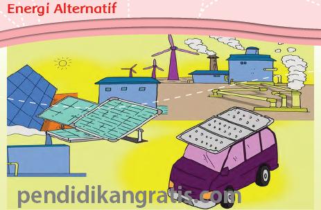 Soal Tematik Kelas 3 Tema 7 Subtema 3 Energi Alternatif