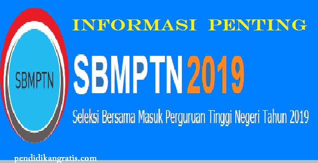 Informasi Penting Pendaftaran SBMPTN 2019, Bidik Misi dan Pilihan Jurusan PTN