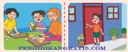 Soal Tematik Kelas 2 SD/MI Tema 8 Subtema 1 Aturan Keselamatan Di Rumah